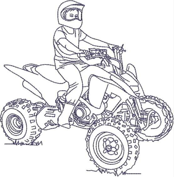 quad bike pictures to colour  webphotos