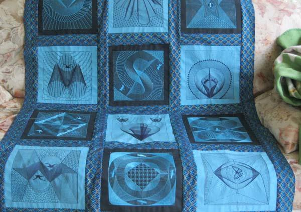 Zentangles 20 x 20