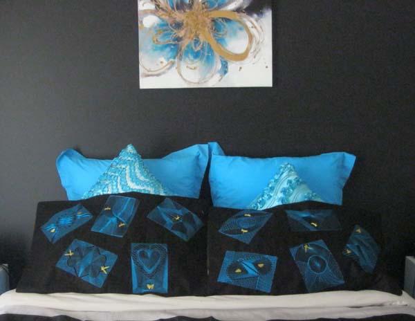 zentangle pillows